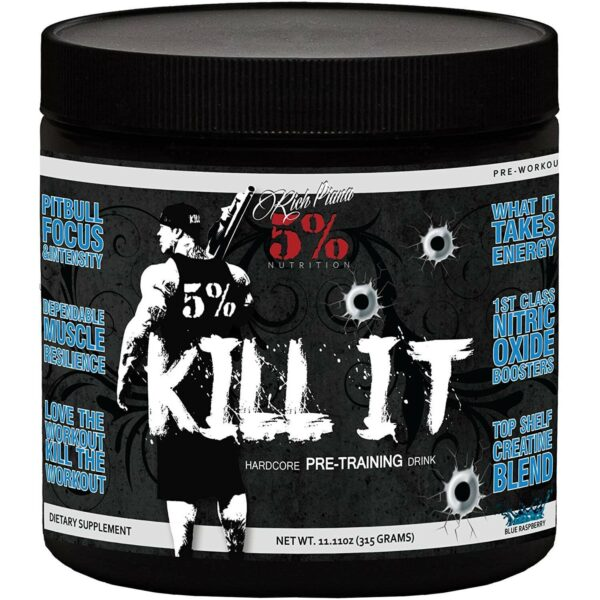 5% Nutrition Kill It Pre-Workout - Blue Raspberry