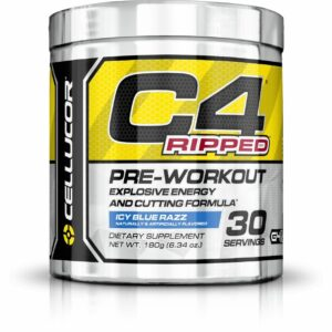 Cellucor C4 Ripped - Icy Blue Razz - 30 Servings