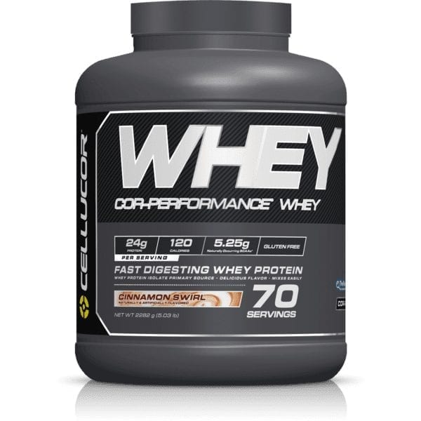 Cellucor COR-Performance Series COR-Performance Whey - Cinnamon Swirl - 5 lbs