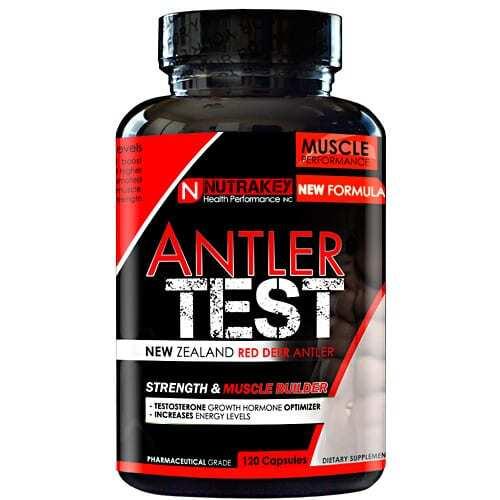 Nutrakey Antler Test - 120 Capsules