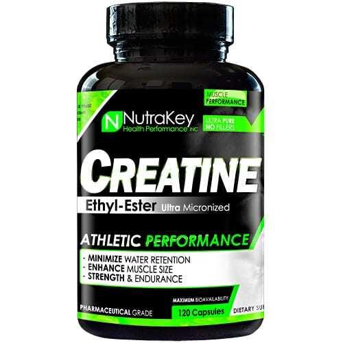 Nutrakey Creatine Ethyl Ester - 120 Capsules