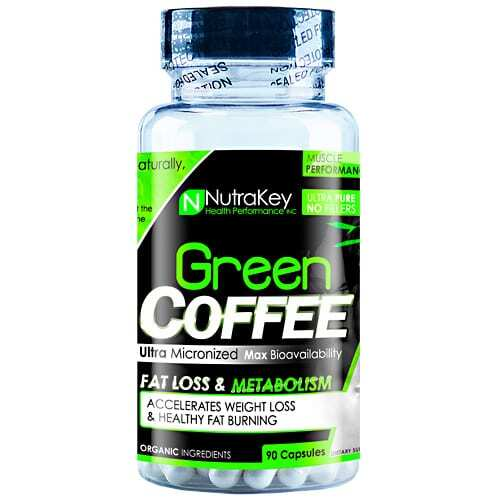 Nutrakey Green Coffee - 90 Capsules