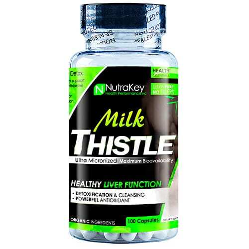 Nutrakey Milk Thistle - 100 Capsules