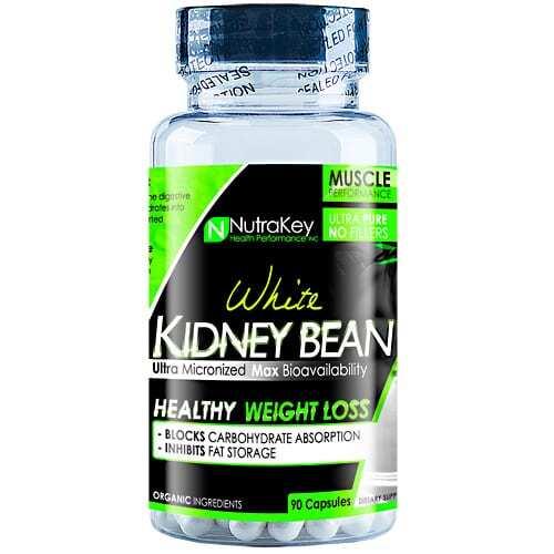 Nutrakey White Kidney Bean Extract - 90 Capsules