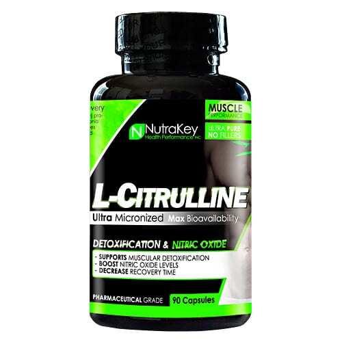 Nutrakey L-Citrulline Malate - 90 Capsules