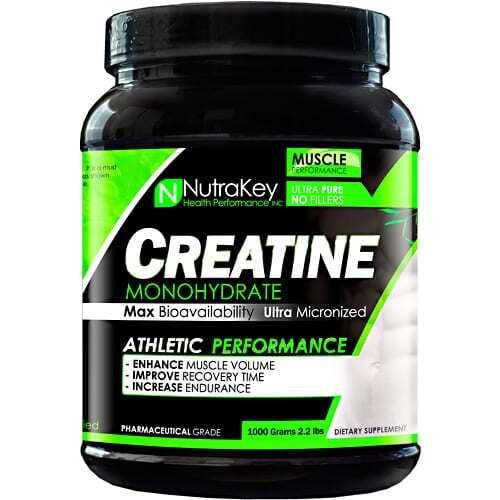 Nutrakey Creatine Monohydrate - 1000 grams