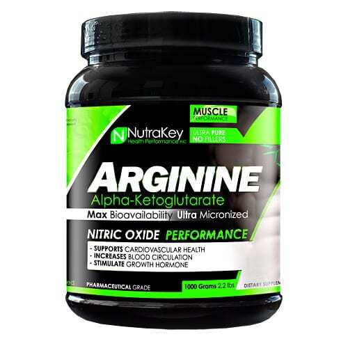 Nutrakey Arginine Powder - 1000 grams