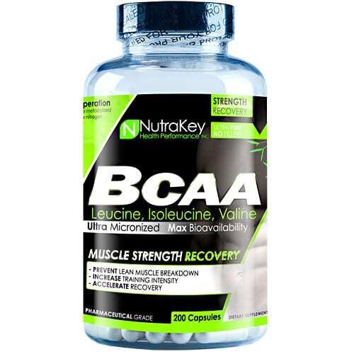 Nutrakey BCAA 1500 - 200 Capsules