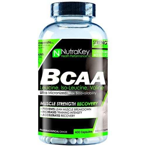 Nutrakey BCAA 1500 - 400 Capsules