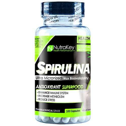 Nutrakey Spirulina - 100 Capsules