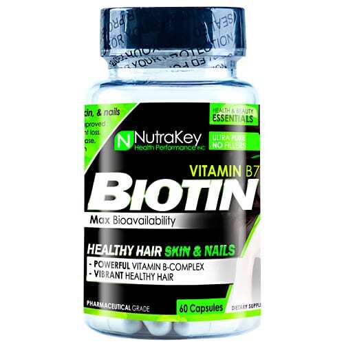 Nutrakey Biotin - 60 Capsules