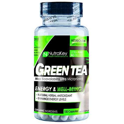 Nutrakey Green Tea Extract - 100 Capsules