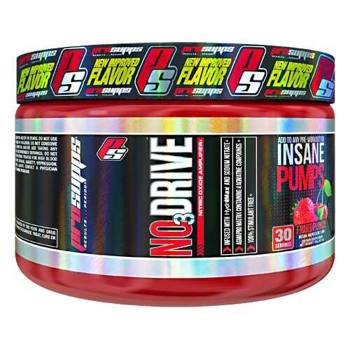 Pro Supps NO3 Drive - Fruit Punch - 30 servings