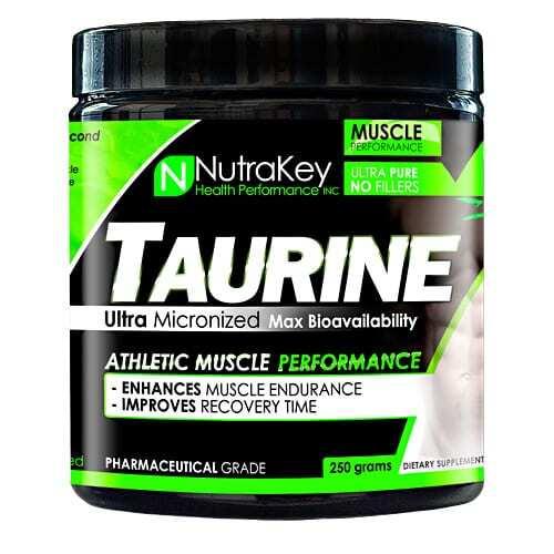 Nutrakey Taurine - 250 grams