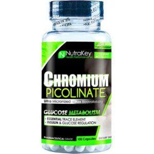 Nutrakey Chromium Picolinate - 100 Capsules