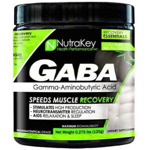 Nutrakey GABA - Unflavored - 42 Servings