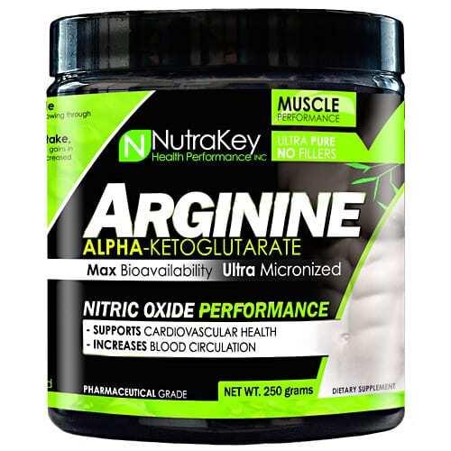 Nutrakey L-Arginine - Unflavored - 0
