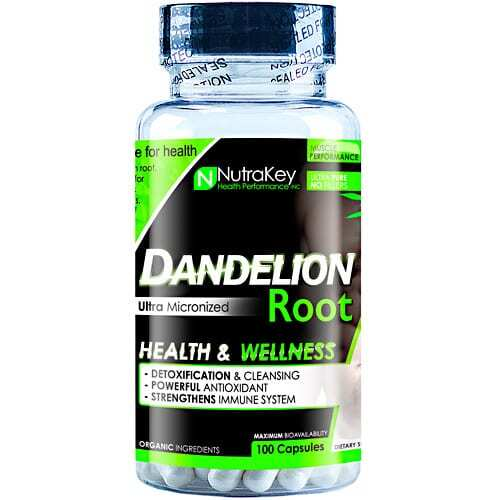 Nutrakey Dandelion Root - 100 Capsules
