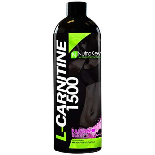 Nutrakey L-Carnitine 1500 - Passion Berry - 31 Servings