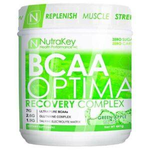 Nutrakey BCAA Optima - Green Apple - 30 servings