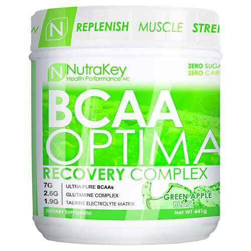 Nutrakey BCAA Optima - Green Apple - 30 servings