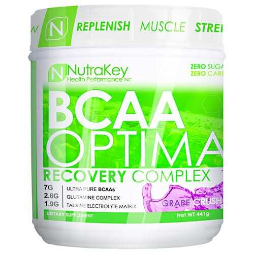 Nutrakey BCAA Optima - Grape Crush - 30 Servings