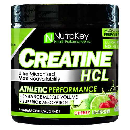 Nutrakey Creatine HCL - Cherry Limeade - 125 Scoops