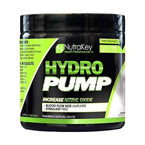 Nutrakey Hydro Pump - Unflavored - 124 Grams