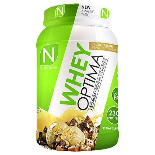Nutrakey Whey Optima - Salted Caramel Peanut Butter Cup - 30 Servings