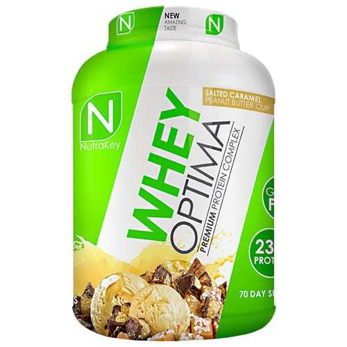 Nutrakey Whey Optima - Salted Caramel Peanut Butter Cup - 70 Servings