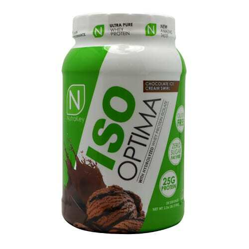 Nutrakey Iso Optima - Chocolate Ice Cream Swirl - 2 lbs