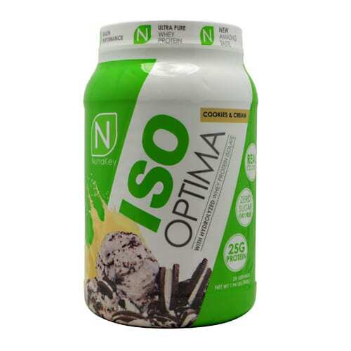 Nutrakey Iso Optima - Cookies & Cream - 2 lbs
