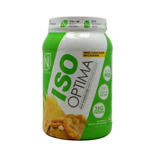 Nutrakey Iso Optima - White Chocolate Macadamia - 2 lbs