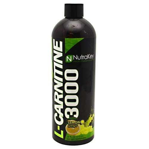 Nutrakey L-Carnitine 3000 - Lemon Drop - 16 FL OZ