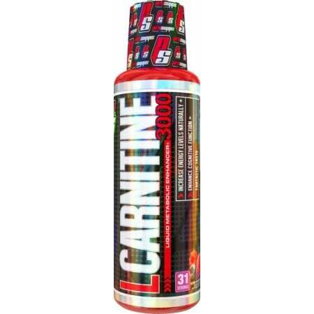 Pro Supps L-Carnitine 3000 - Blue Razz - 16 fl oz (473 ml)
