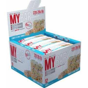 Pro Supps My Bar - Confetti Cake - 12 Bars