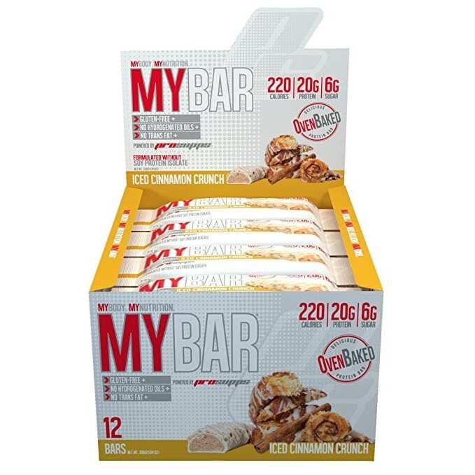 Pro Supps My Bar - Iced Cinnamon Crunch - 12 Bars