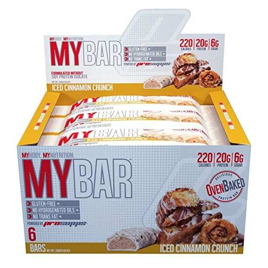 Pro Supps My Bar - Iced Cinnamon Crunch - 6 Bars