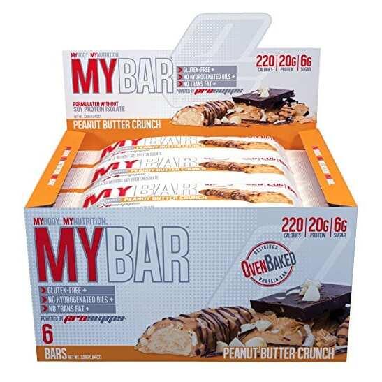 Pro Supps My Bar - Peanut Butter Crunch - 6 Bars