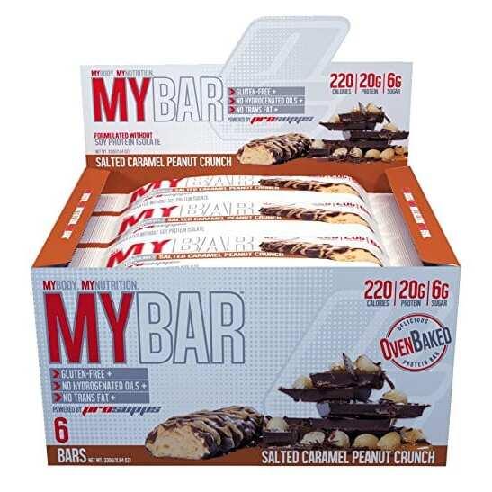 Pro Supps My Bar - Salted Caramel Peanut Crunch - 6 Bars