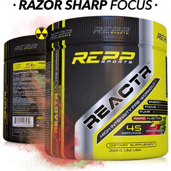 Repp Sports Reactr - Dragon Fruit - 45 Servings