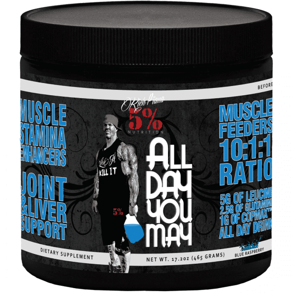 All Day You May - 30 Servings - Blue Raspberry