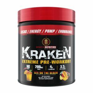 Sparta Nutrition Kraken Pre Workout - Sex on the Beach - 40 Servings