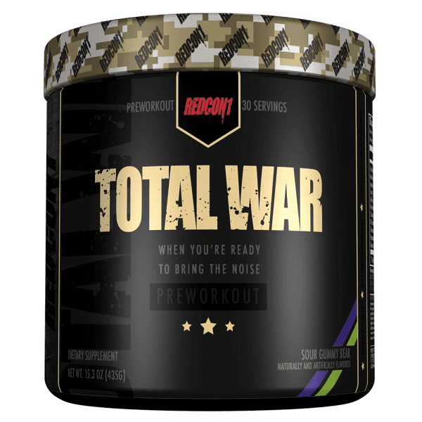 RedCon1 Total War - 30 Servings - Sour Gummy Bear
