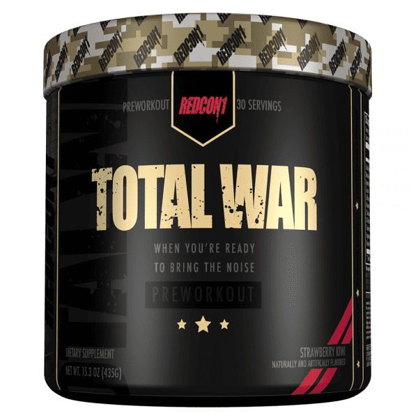 RedCon1 Total War - 30 Servings - Strawberry Kiwi