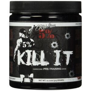 5% Nutrition Kill It Pre-Workout - Fruit Punch