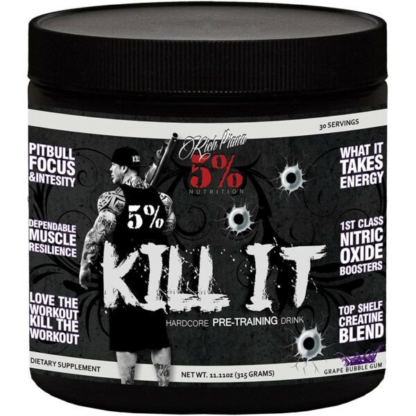 5% Nutrition Kill It Pre-Workout - Grape Bubblegum