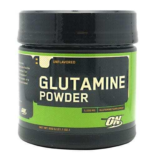 Optimum Nutrition Glutamine Powder - Unflavored - 600 g (21.1 oz)