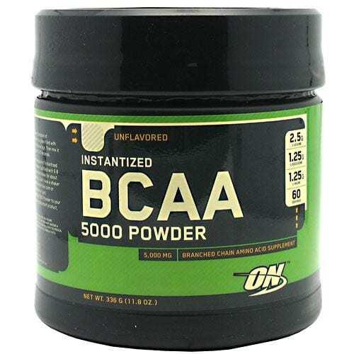Optimum Nutrition Instantized BCAA 5000 Powder - Unflavored - 11.8 oz (336 g)