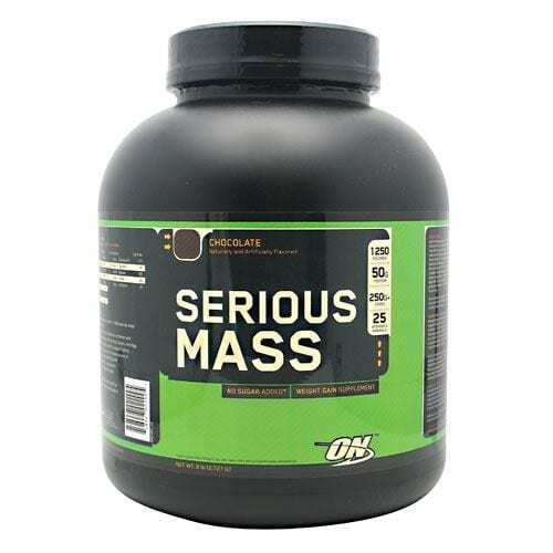 Optimum Nutrition Serious Mass - Chocolate - 6 lbs (2727 g)
